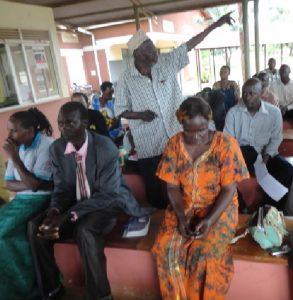 CARA community sensitization meeting